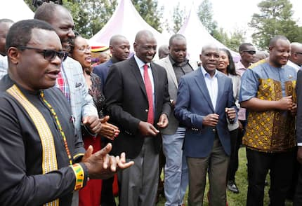 Western Kenya MPs claim region not yet mature enough to field presidential candidate