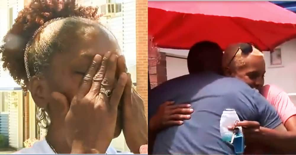 Emotions Run High As Man Reunites With Biological Mother After 42 Years