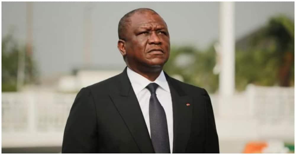 The late Ivory Coast's Prime Minister Hamed Bakayoko. Photo: Hamed Bakayoko.