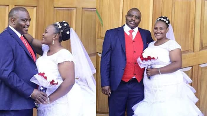 """Kenyans Console Widow Whose Husband Died 10 Months After Colourful Wedding: """"No One Would Understand the Pain"""""""