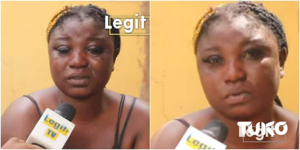 I wish to stop this work if I see help: Nigerian woman weeps bitterly as she narrates her Libya experience