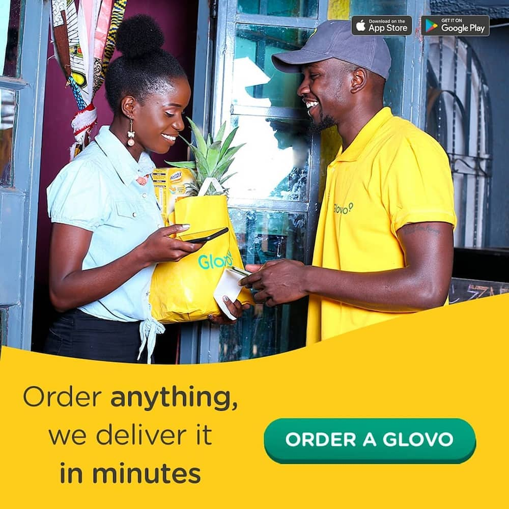 Glovo delivery