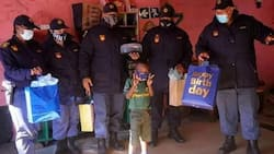 Boy who posed as cop gets gifts on his birthday from police officers