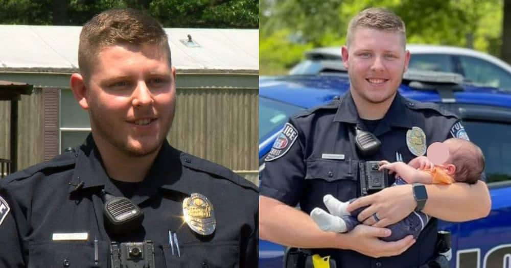 Life Saver: Heroic Police Recruit Saves Newborn Baby From Choking