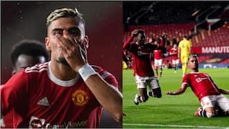 Forgotten Man United Star Scores Stunning Goal During Brentford Draw