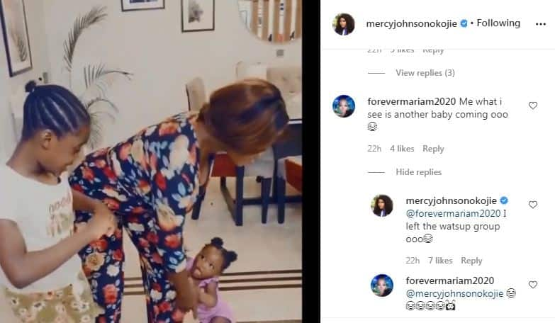 Actress Mercy Johnson reveals she is done with having children