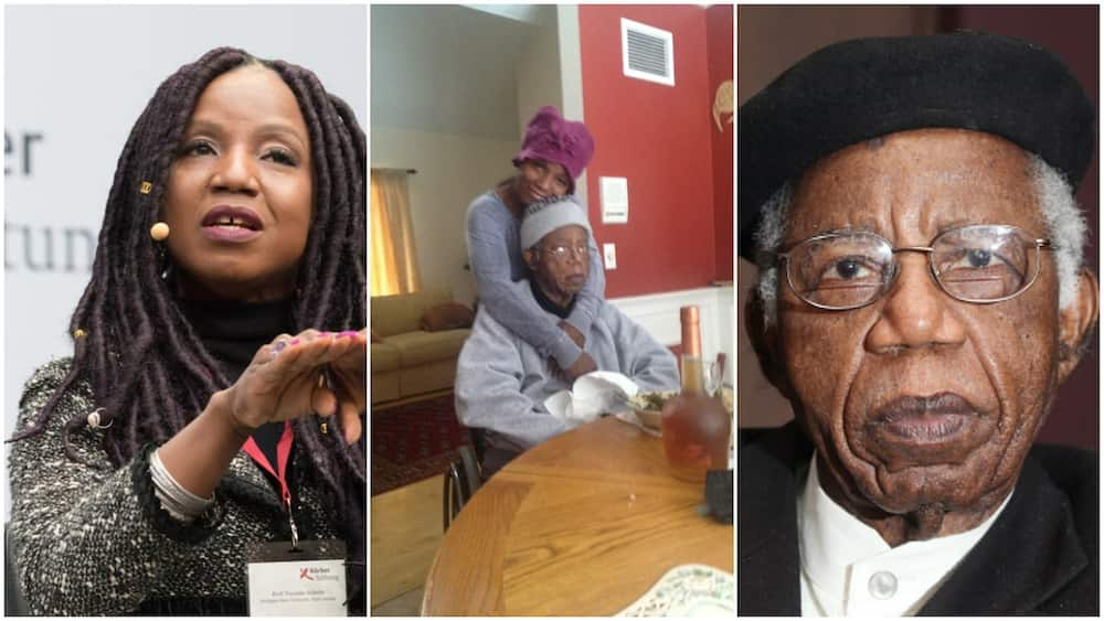 Chinua Achebe's Daughter Remembers her Daddy 8 Years after his Death