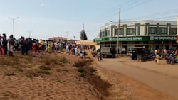 Chaos in Marsabit town as man takes refuge in bank after fight with tout