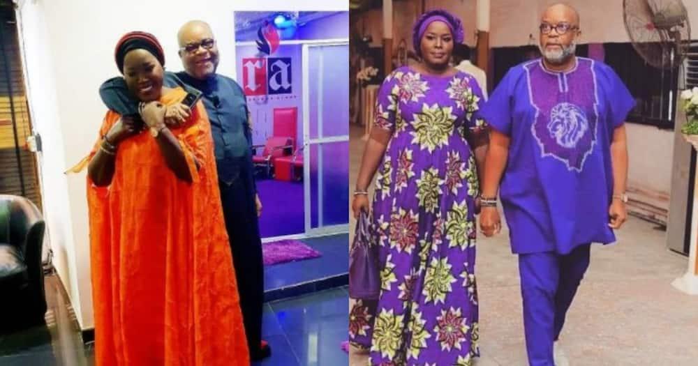 Emmy Kosgei and Nigerian hubby Anselm Madubuko.