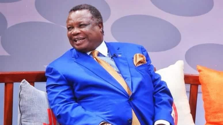 Central Organisation of Trade Unions (COTU) secretary-general Francis Atwoli in a passed interview. Photo: Citizen