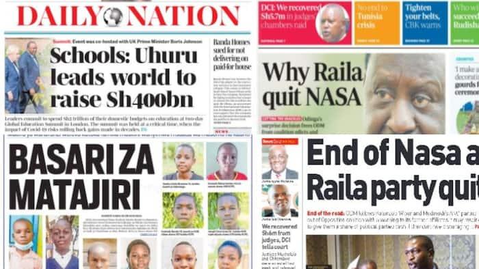 Kenyan Newspapers Review: Caroline Kangogo's Family Eulogise Her as Humble, Religious