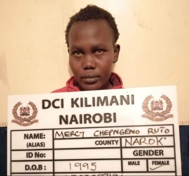 Detectives arrest woman who strangled her one year-old child, dumped him at dumpsite
