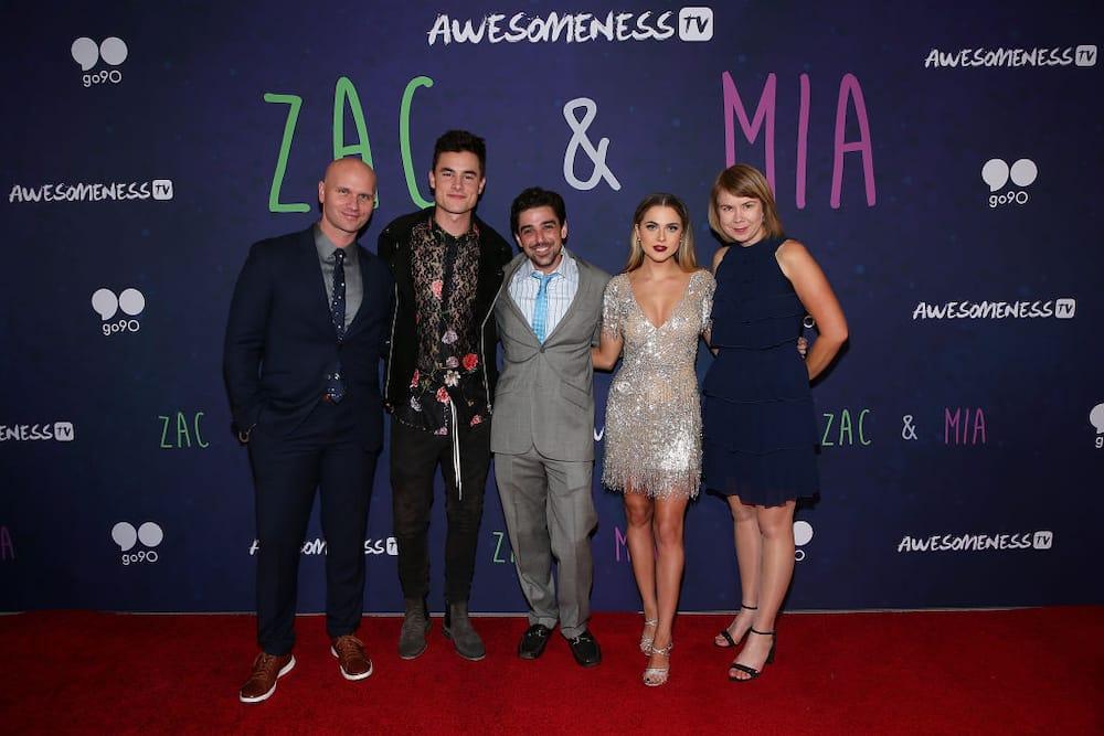 Zac and Mia cast