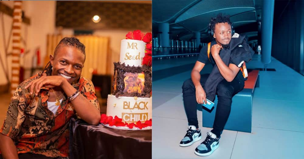 Before the beef, Seed and Bahati shared the same label called EMB Records.