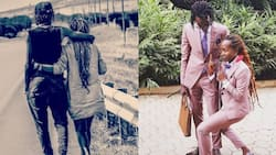 Expectant Comedienne Anne Kansiime, Lover Skylanta Build Baby Crib for Their First Child