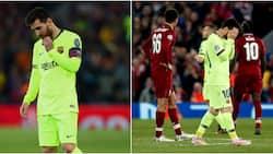 Lionel Messi aachwa na basi la Barcelona baada ya kichapo kikali kutoka kwa Liverpool