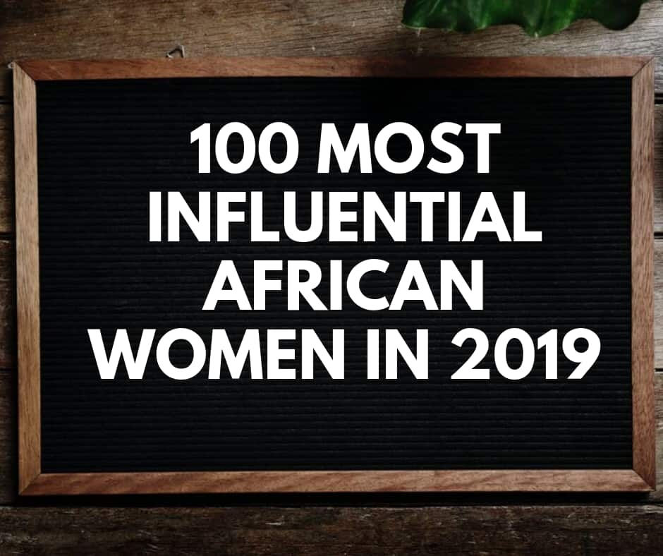 100 most influential African women in 2019-full list