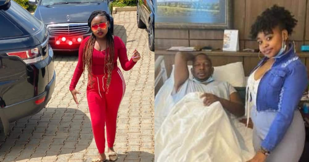 Sonko's daughter steps out in stunning flowing gown to celebrate her birthday
