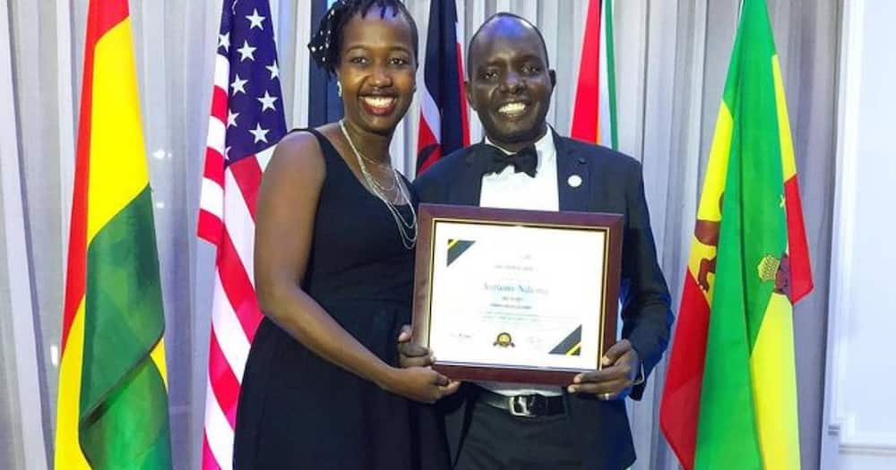 TV Host Anthony Ndiema received Christian Media Award from I Change Nations Global Awards.