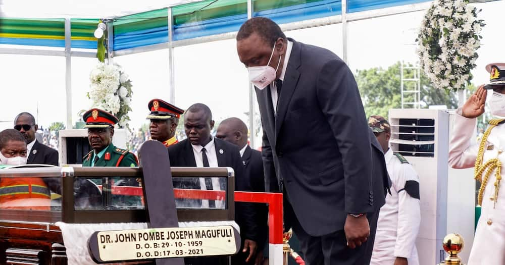 Swahili Translator Sends Wrong Message during SA's President's Speech at Magufuli's Funeral Service
