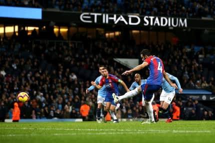 Crystal Palace hand Manchester City surprise Premier League defeat at home