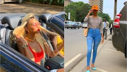 Huddah shows off goodies in revealing dress hours after promising to stay away from intimacy