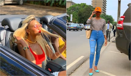 Socilite Huddah Monroe admits to struggling to afford luxuries despite dating billionaires in the past