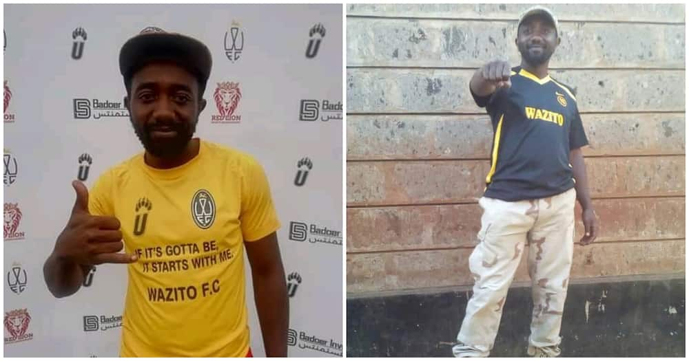 Brian Khaguli Mukabi: Wazito FC stand with family of bereaved fan as club CEO attends burial