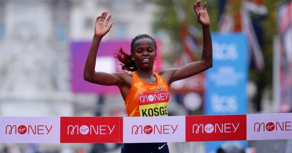 Brigid Kosgei ashinda mbio za London Marathon makala ya 40
