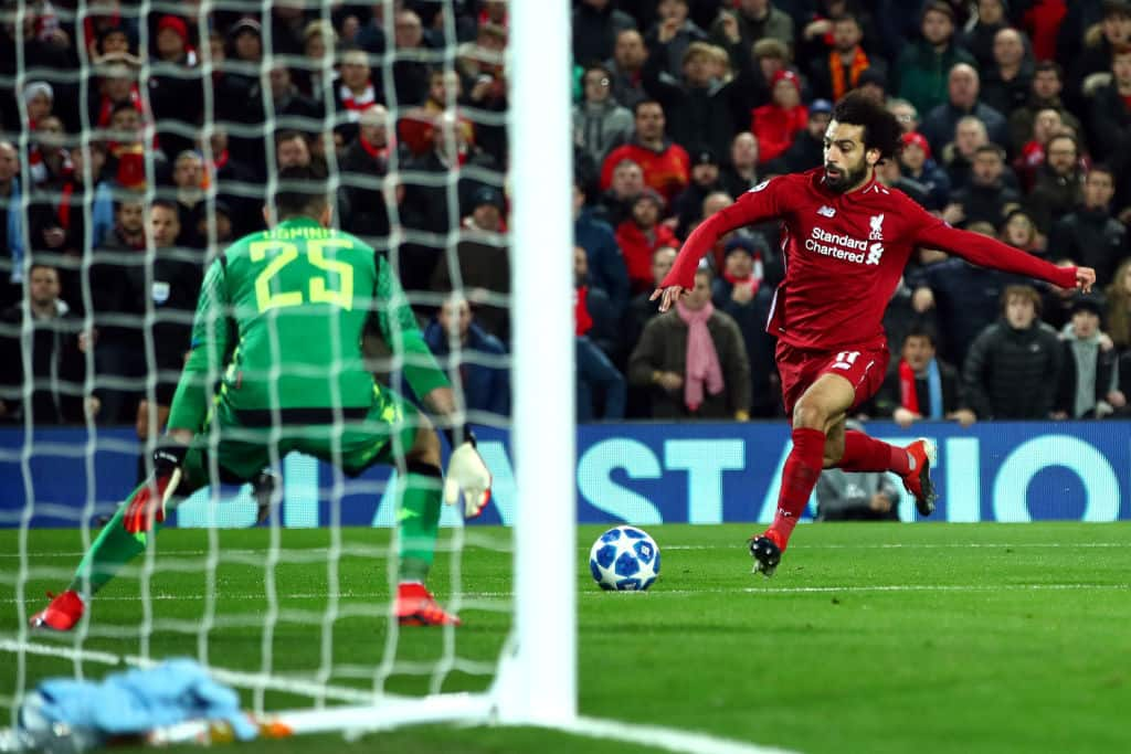 Man United legend Rio Ferdinand left speechless after Mo Salah's incredible Champions League goal