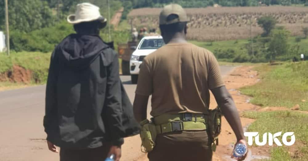 Mukenya Isaac. Photo: Davis Bwayo/ Tuko.co.ke.