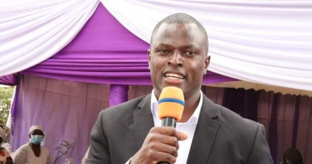 Kiharu Member of Parliament Ndindi Nyoro. Photo: Ndindi Njoro.