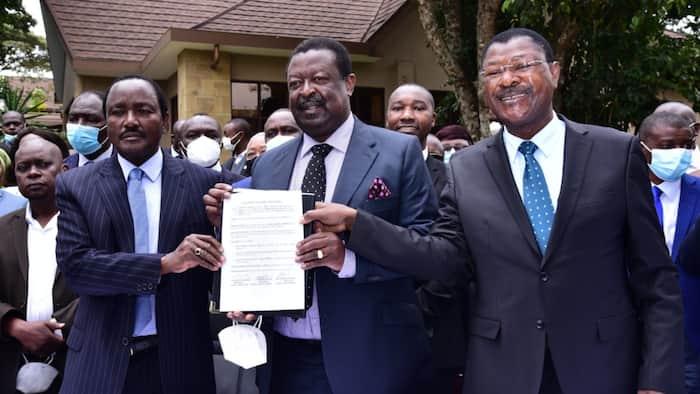 OKA Principals Lined Up to Meet Mt Kenya Honchos after Raila Odinga