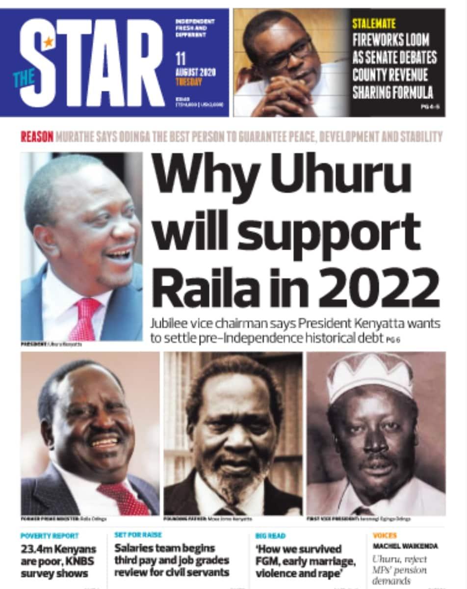 Magazeti ya Jumanne, Agosti 11: Nairobi ndio kaunti tajiri zaidi Kenya