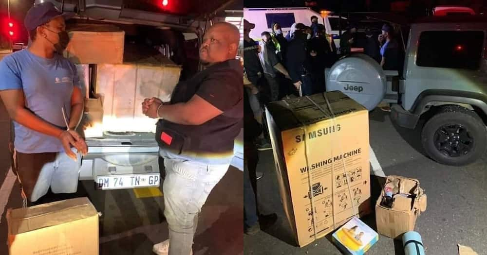 CEO arrested in Durban for looting