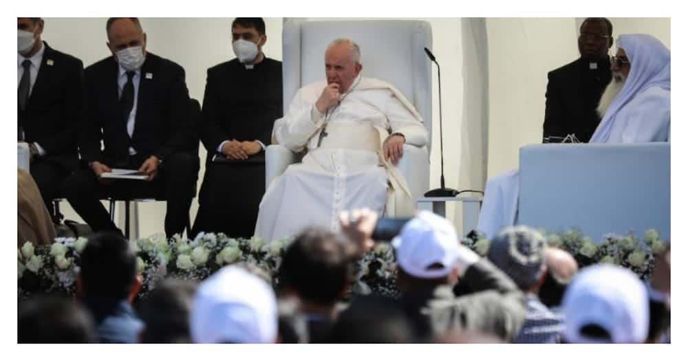 Pope Francis condemns extremism labels it as betrayal to religion during visit to Iraq