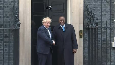 Uhuru to Co-Chair Global Education Summit with UK PM Borris Johnson During Trip to England