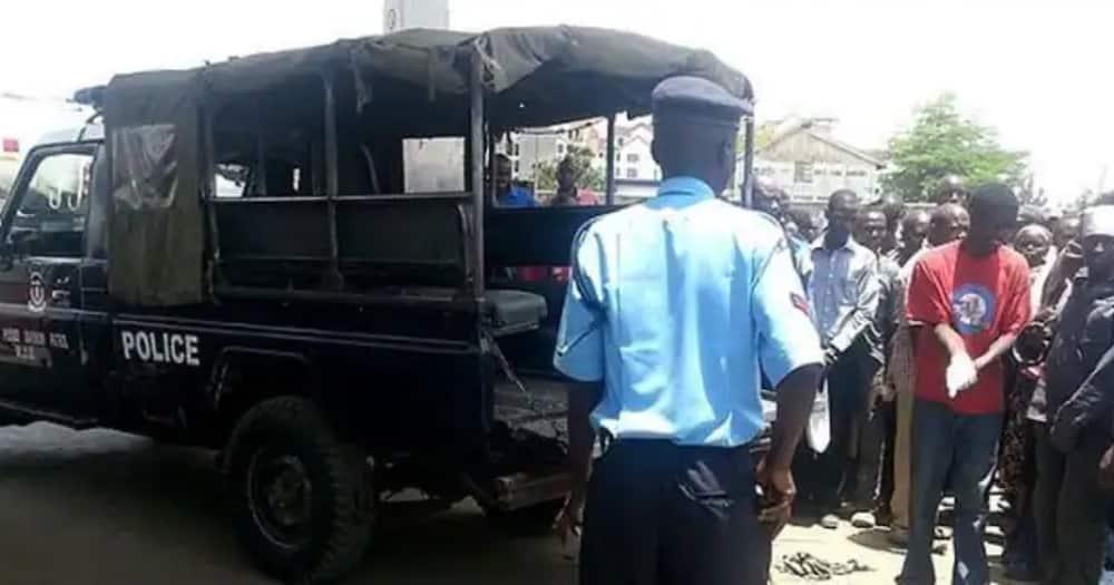 Polisi Buruburu Wawapiga Risasi Washukiwa 2 Waliokuwa Kwenye Pikipiki