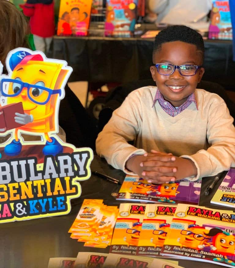 Meet 9-year-old Ghanaian boy who is a bestselling author on Amazon