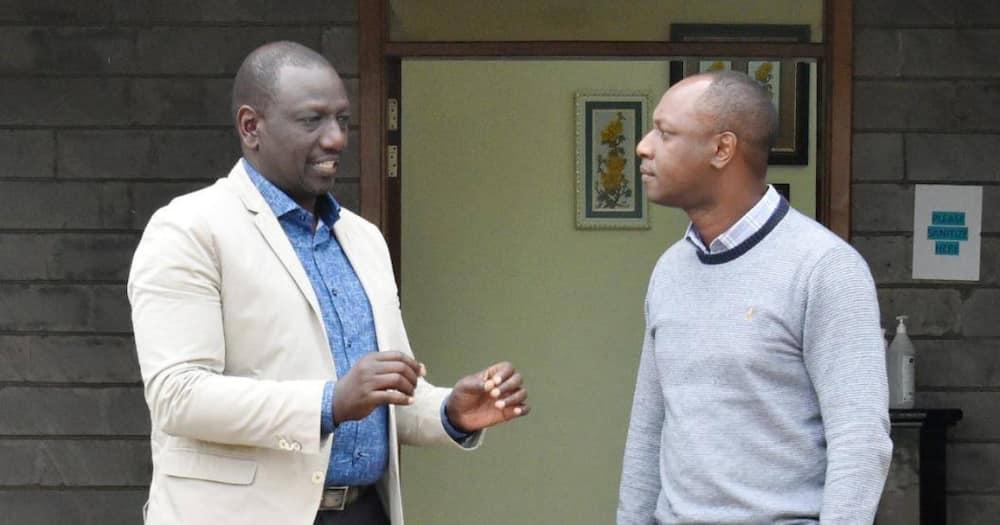 Aliyekuwa Naibu Gavana Jonathan Mueke Ajiunga na DP Ruto
