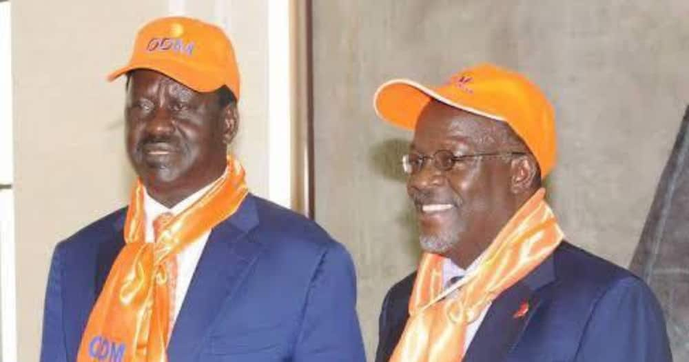 """Raila Discloses He Tried Calling, Texting John Magufuli When Death Rumours Began: """"Both Went Unanswered """""""