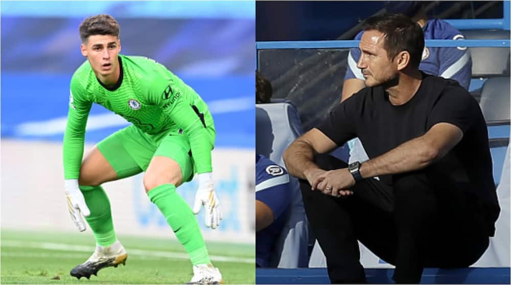 What Lampard said about Kepa's error after Chelsea's Premier League defeat to Liverpool