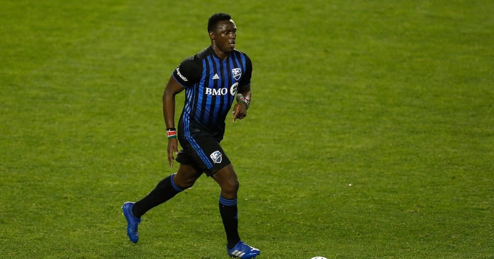 Victor Wanyama while in action for Montreal Impact. Photo: Getty Images.