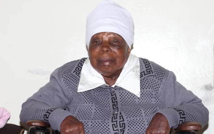 Dedan Kimathis widow Mukami Kimathi. Photo: Standard