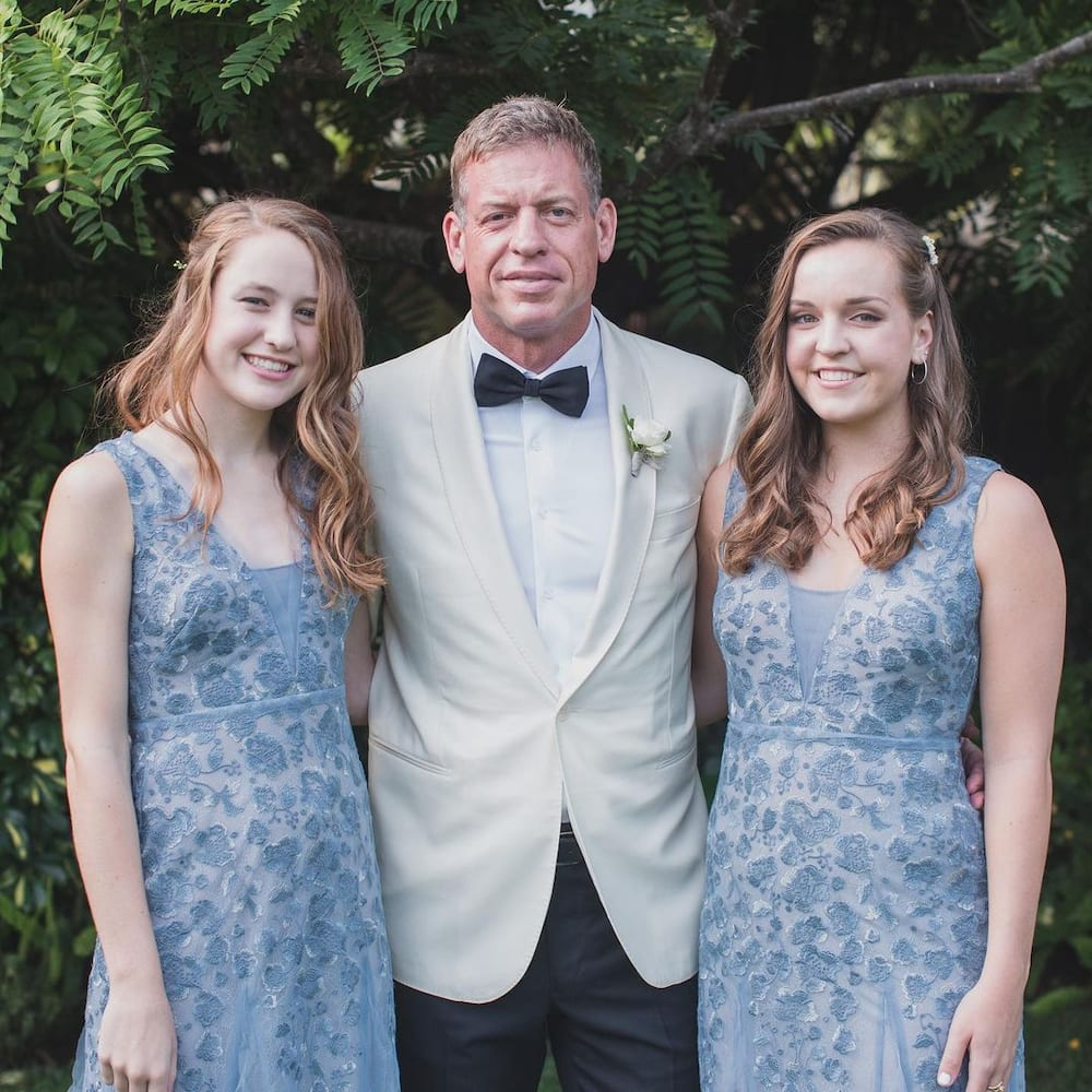 Current troy wife aikman Troy Aikman's