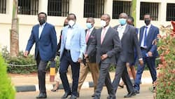 Kalonzo Musyoka Matches to DCI Offices with a Battery of Lawyers over His Yatta Land Probe