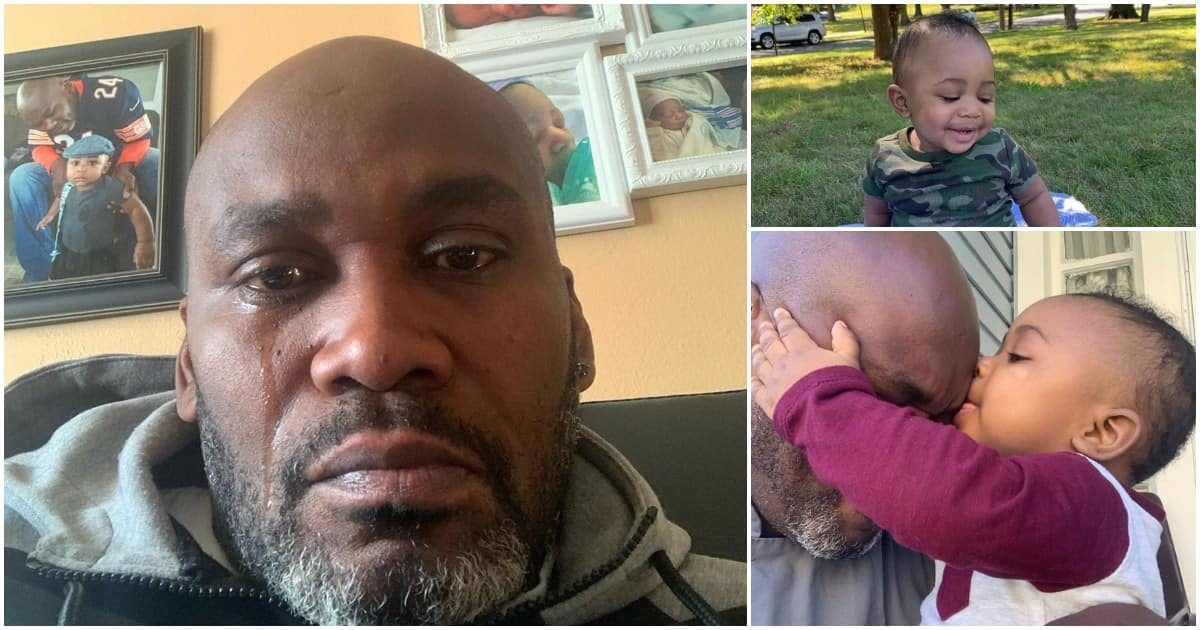 Image result for Heartbroken dad breaks down after finding out he is not son's biological father