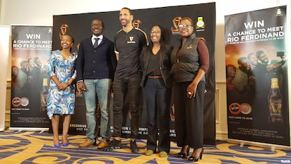 Legendary EPL footballer Rio Ferdinand arrives in Nairobi for Guinness Fanzone