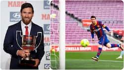 Lionel Messi Becomes 1st Player in La Liga History to Win Prestigious Award for the 8th Time