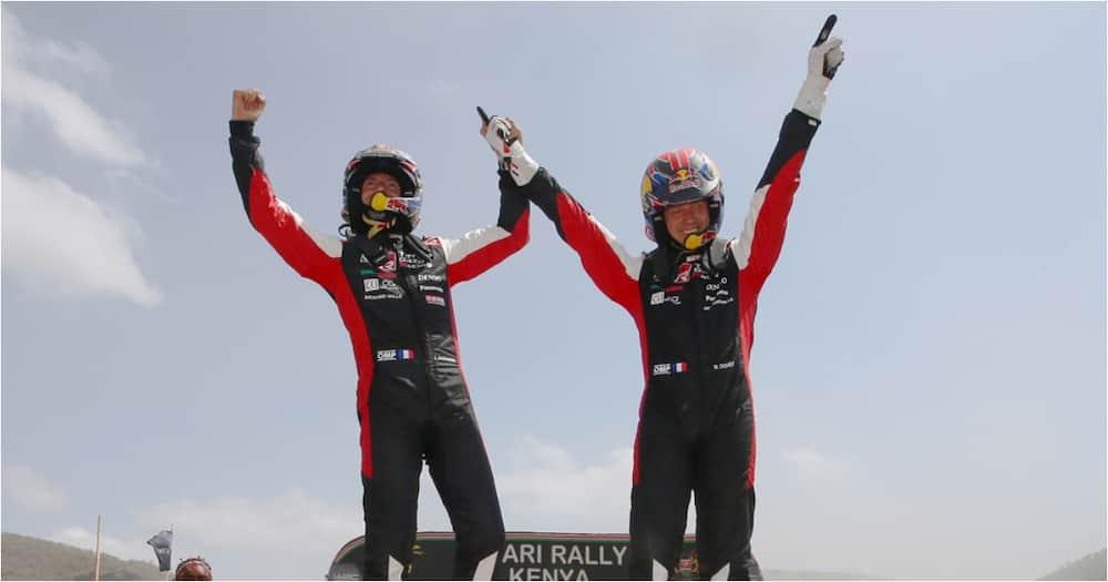 Safari Rally winner Sebastien Ogier makes generous KSh 2.5m donation to 2 Kenyan charities